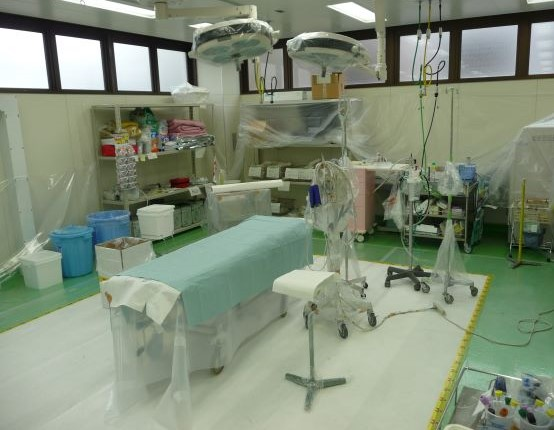 After Fukushima: the trauma bay at the Fukushima Medical University, April 2011